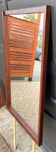 REFINISHED Danish MCM Rosewood Dresser & Mirror, PERFECT