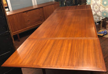 "Load image into Gallery viewer, REFINISHED Danish MCM Teak Draw Leaf Table 53""-91"" - Mid Century Modern Toronto"