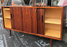 "Load image into Gallery viewer, REFINISHED Danish MCM Brazilian Rosewood Credenza by Poul Hundevad, 54"" PERFECT - Mid Century Modern Toronto"