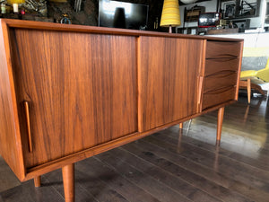 "ON HOLD for Steve L.--Danish MCM Teak Sideboard TV Console 63"" - Mid Century Modern Toronto"