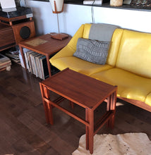 Load image into Gallery viewer, REFINISHED Danish Mid Century Modern set of 3 teak nesting tables, perfect - Mid Century Modern Toronto