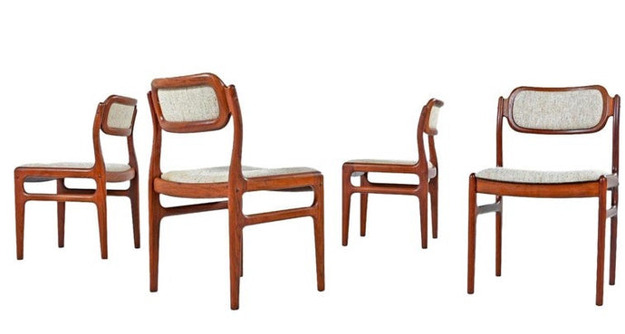 6 Danish MCM Rosewood Chairs by Johannes Andersen PERFECT, each $499 - Mid Century Modern Toronto