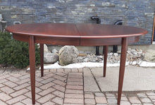 "Load image into Gallery viewer, Danish MCM Rosewood Table Oval w 2 leaves 58""-96"" by GUDME, MINT - Mid Century Modern Toronto"