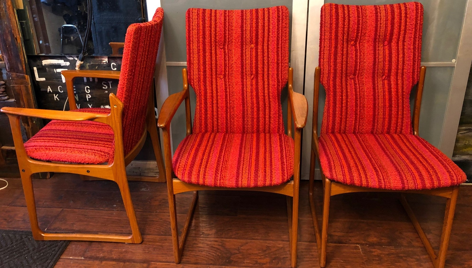 Groovy 6 Danish Mcm Solid Teak Dining Chairs Restored By Vamdrup Beatyapartments Chair Design Images Beatyapartmentscom