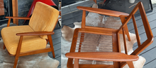 Load image into Gallery viewer, REFINISHED Danish MCM Teak Lounge Armchair, like new - Mid Century Modern Toronto