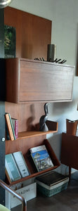 ON HOLD for J. ***Restored Danish MCM teak modular wall unit with storage and display, PERFECT, CADO style - Mid Century Modern Toronto