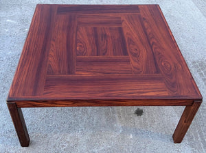 REFINISHED Danish MCM Rosewood Coffee Table, PERFECT