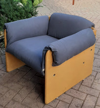 Load image into Gallery viewer, Restored MCM Lounge Armchair in grey linen by J.Diamond