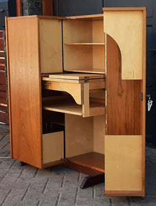RESTORED MCM Swiss Magic Box Desk by Mummenthaler & Meier