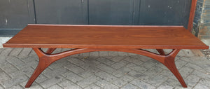 REFINISHED MCM Coffee Table in style of A.Pearsall and V.Kagan, PERFECT