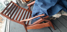 Load image into Gallery viewer, REFINISHED REUPHOLSTERED MCM High Back Lounge Chair Reclining, PERFECT