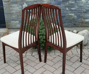6 MCM Rosewood Chairs by Svegards Markaryd, PERFECT - Mid Century Modern Toronto