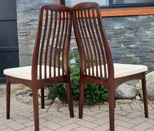 Load image into Gallery viewer, 6 MCM Rosewood Chairs by Svegards Markaryd, PERFECT - Mid Century Modern Toronto