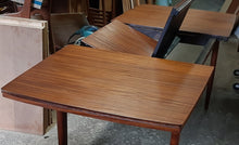 "Load image into Gallery viewer, REFINISHED MCM Solid Teak Mahogany Table with butterfly extension 60""-84"" PERFECT - Mid Century Modern Toronto"