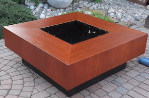 REFINISHED Giant MCM Teak Coffee Table, PERFECT