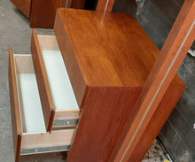 Load image into Gallery viewer, REFINISHED MCM Teak Freestanding Modular Wall Unit