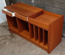 "Load image into Gallery viewer, REFINISHED  MCM Teak Entertainment or Media Unit, 48""-95"" almost perfect - Mid Century Modern Toronto"