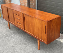 Load image into Gallery viewer, REFINISHED MCM Teak Sideboard GIGANT by Nils Jonnson for TROEDS 87""