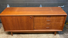 Load image into Gallery viewer, REFINISHED Danish MCM Teak Sideboard Credenza 60""