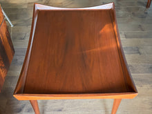 Load image into Gallery viewer, Set of 2 REFINISHED MCM Walnut Accent Tables by Deilcraft