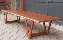 Load image into Gallery viewer, REFINISHED MCM Walnut Coffee Table by Lane, PERFECT