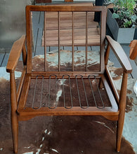 Load image into Gallery viewer, RESTORED MCM Walnut Lounge Chair