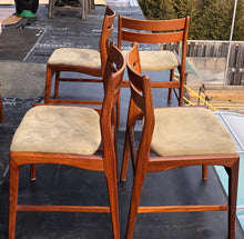 Load image into Gallery viewer, 4 Danish MCM Teak Chairs by Boltinge RESTORED REUPHOLSTERED, each $245 - Mid Century Modern Toronto