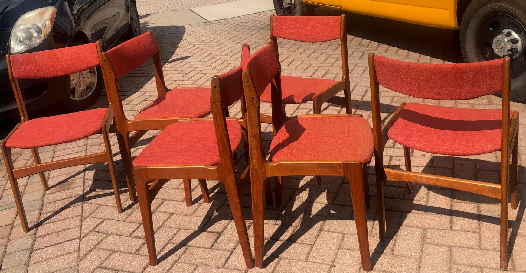 Tremendous Deposit For 10 Danish Mcm Teak Chairs By Anderstrup Restored Will Be Reupholstered For You Each 229 Andrewgaddart Wooden Chair Designs For Living Room Andrewgaddartcom