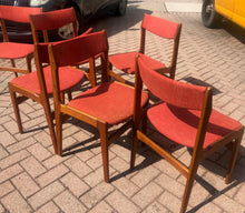 Load image into Gallery viewer, On HOLD 9 Danish MCM Teak Chairs by Anderstrup RESTORED will be REUPHOLSTERED for you, each $229 - Mid Century Modern Toronto