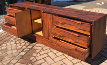 Load image into Gallery viewer, REFINISHED MCM Rosewood Sideboard Credenza or Dresser 7ft perfect - Mid Century Modern Toronto