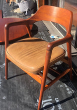 Load image into Gallery viewer, A pair REFINISHED MCM Walnut Sculptural Armchairs by WH Gunlocke, GORGEOUS, each chair $899 - Mid Century Modern Toronto