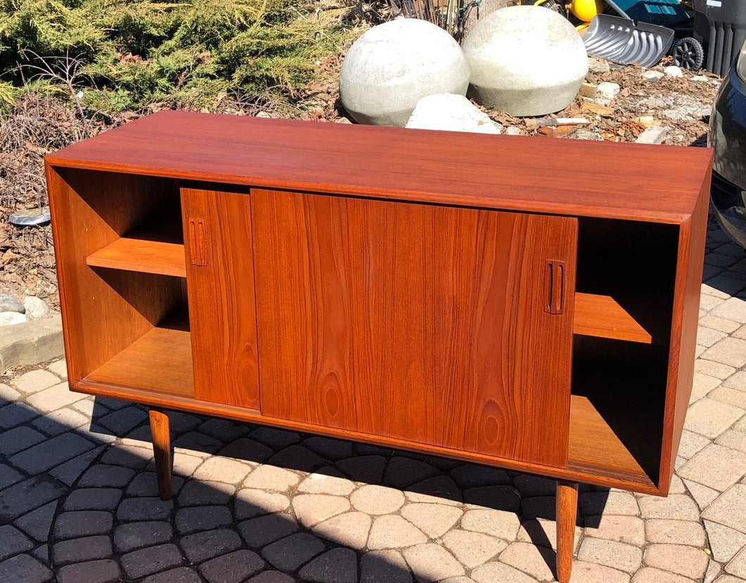 REFINISHED MCM  Teak Buffet Sideboard 48