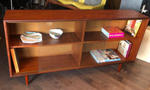 "Load image into Gallery viewer, REFINISHED MCM  Teak Display Bookcase 60"" - Mid Century Modern Toronto"