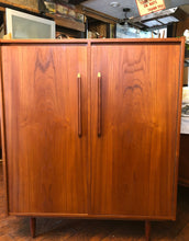 Load image into Gallery viewer, REFINISHED MCM  Teak Compact Wardrobe or Tall Dresser, PERFECT - Mid Century Modern Toronto
