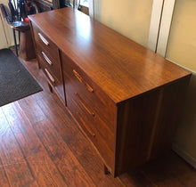 Load image into Gallery viewer, Mid Century Modern Walnut Dresser 6 Drawers REFINISHED, perfect - Mid Century Modern Toronto