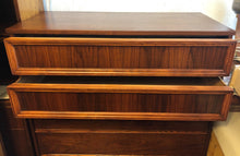 Load image into Gallery viewer, REFINISHED MCM Walnut Sculptural Walnut Tallboy, PERFECT - Mid Century Modern Toronto