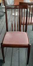 Load image into Gallery viewer, 8 Danish MCM Rosewood or Mahogany Dining Chairs RESTORED; very comfortable, each $249 - Mid Century Modern Toronto