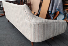 Load image into Gallery viewer, Vintage Mid-Century Modern Sofa with REFINISHED wooden frame 7ft Gondola style, SUPER SALE - Mid Century Modern Toronto