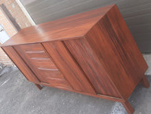 "Load image into Gallery viewer, REFINISHED MCM Solid Wood Credenza Sideboard 81.5"" - Mid Century Modern Toronto"