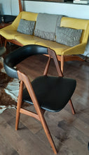 Load image into Gallery viewer, RESTORED Danish MCM Teak Compass Armchair, single, perfect - Mid Century Modern Toronto