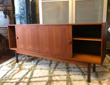Load image into Gallery viewer, REFINISHED MCM Teak Credenza Narrow 6ft - Mid Century Modern Toronto