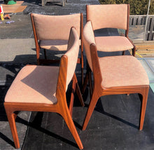 Load image into Gallery viewer, 4 MCM Teak Chairs by Johannes Andersen RESTORED, mint, each $174 - Mid Century Modern Toronto