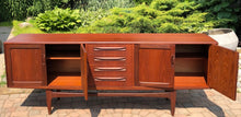"Load image into Gallery viewer, REFINISHED Danish MCM Teak Credenza Sideboard by Kofod-Larsen, almost perfect, 84"" - Mid Century Modern Toronto"