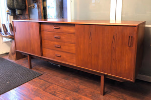 REFINISHED MCM Teak Sideboard, almost PERFECT, 6ft - Mid Century Modern Toronto