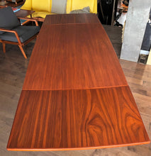 Load image into Gallery viewer, REFINISHED Danish MCM Teak Table Surfboard Extendable by H Kjaernulf for Vejle, perfect - Mid Century Modern Toronto