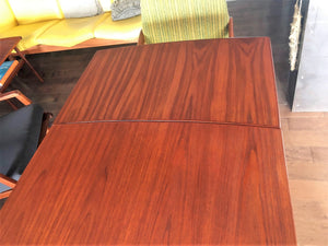 REFINISHED Danish MCM Teak Table Surfboard Extendable by H Kjaernulf for Vejle, perfect - Mid Century Modern Toronto