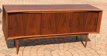 "Load image into Gallery viewer, REFINISHED Walnut MCM Credenza by Deilcraft 68"" PERFECT - Mid Century Modern Toronto"
