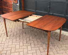 "Load image into Gallery viewer, REFINISHED MCM Walnut Dining Table with butterfly extension 55"" -72"", PERFECT - Mid Century Modern Toronto"