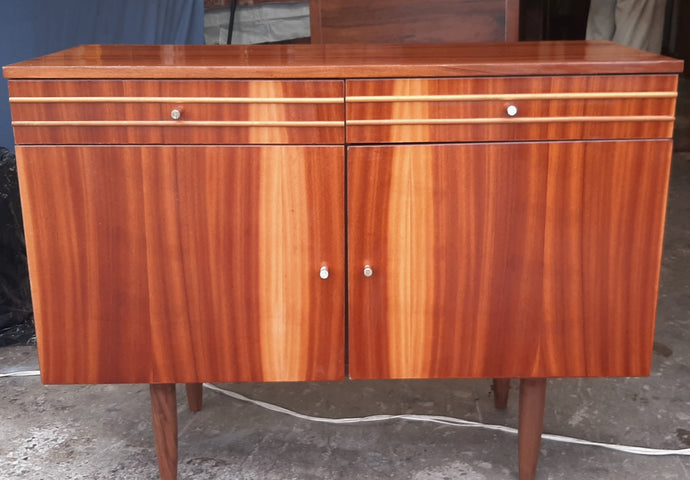 RESTORED MCM Cabinet / Buffet/ Credenza with 2 doors & drawers, 39