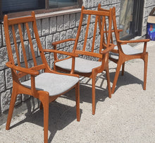 Load image into Gallery viewer, Set of 2 MCM Teak high-back armchairs RESTORED (2 SETS available)